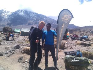 UK Unsighted Youth Scales 'Roof of Africa